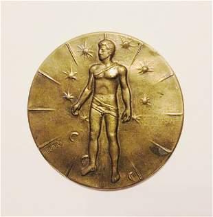 Igor Mitoraj (1944-2014) Bronze Medal
