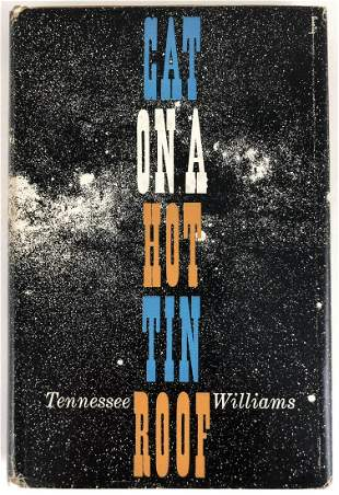 Cat On A Hot Tin Roof, First Edition
