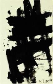 Franz Kline (1910-1962) Ink On Paper