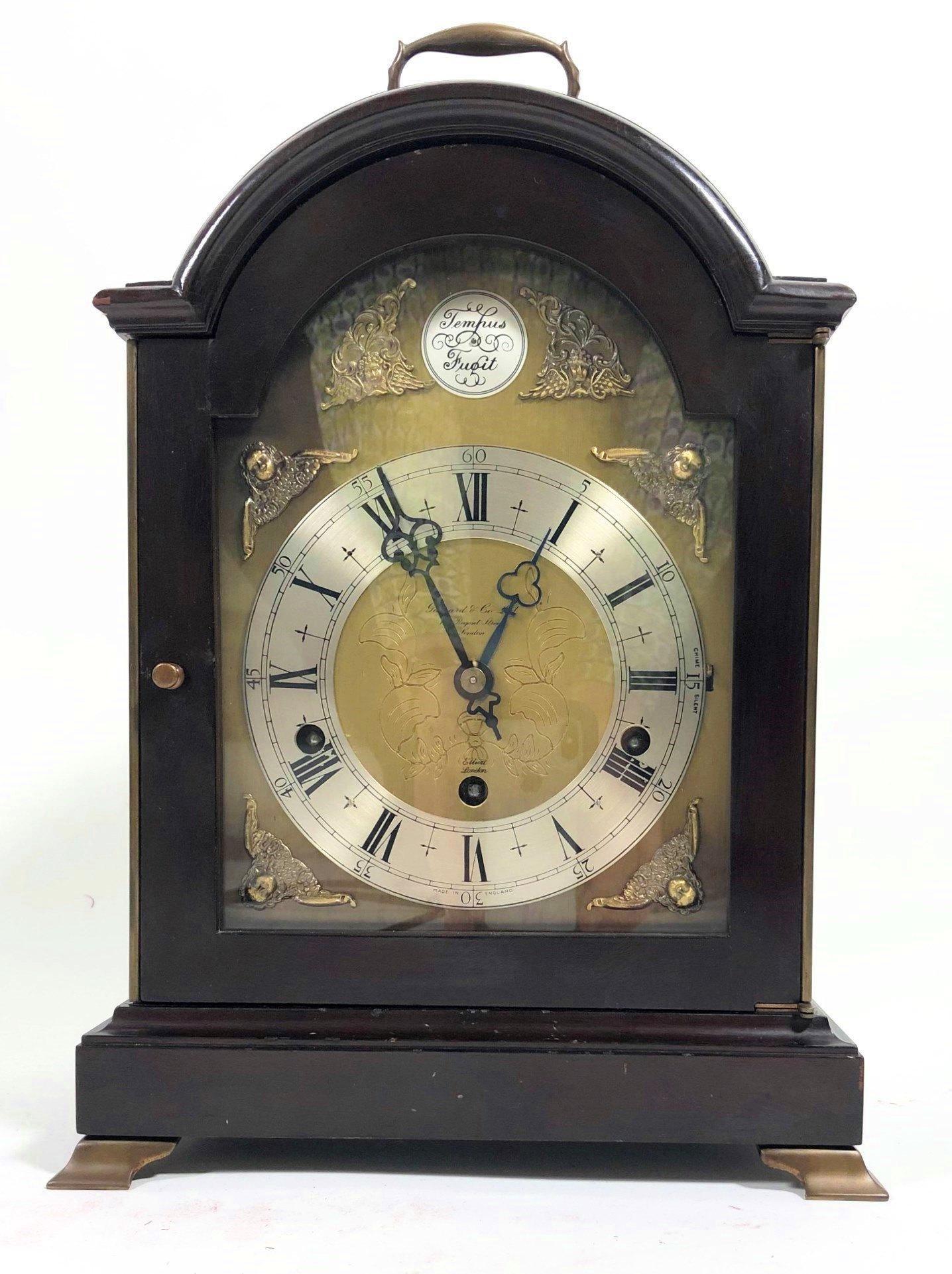 Chiming Bracket Clock By Elliot, London