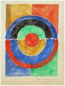 Sonia Delaunay (1885-1979) Mixed Media