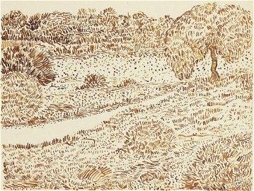 Vincent Van Gogh (1853-1890) Pen & Ink