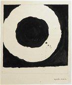 Jiro Yoshihara (1905-1972) Black Ink Drawing