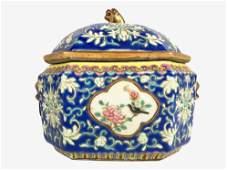 Chinese Porcelain Food Warmer, Circa 1900