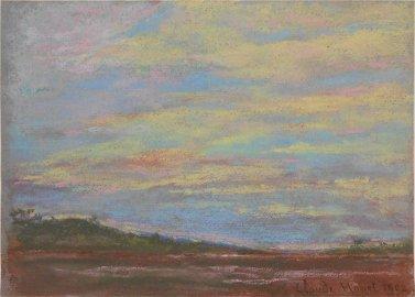 Claude Monet (1840-1926) Pastel
