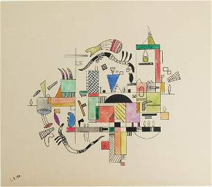 Wassily Kandinsky (1866-1944) Watercolor