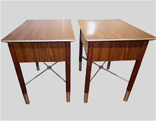 Mid-Century Modernist End Tables
