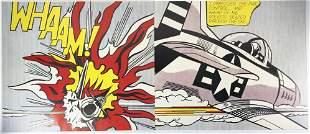 Roy Lichtenstein (1923-1997) Diptych