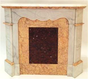 Antique French Fireplace Maquette