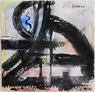 Theodoros Stamos (1922-1997) Watercolor & Gouache