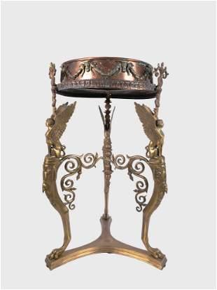 Italian Grand Tour Bronze Athenienne, 19th C.