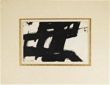 Franz Kline (1910-1962) Ink Drawing