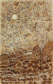 Vincent Van Gogh (1853-1890) Pen & Ink Drawing
