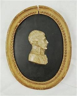 Napoleon Wax Portrait, Early 19th Century