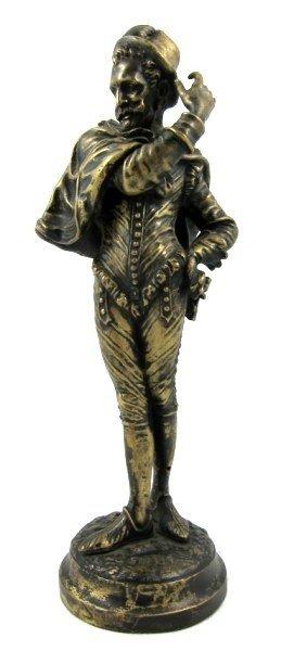 6: Bronze Venetian Nobleman