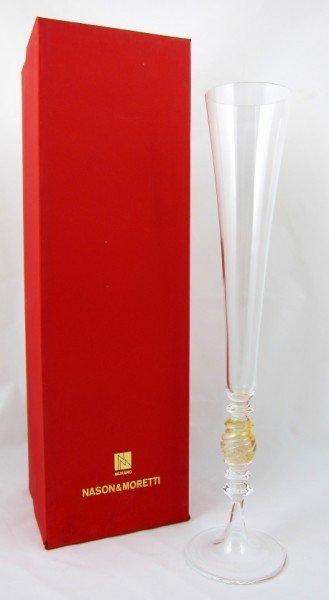 8: 12 Nanson & Moretti Champagne Flutes