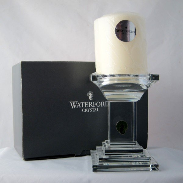 9: Waterford Crystal Candle Holder