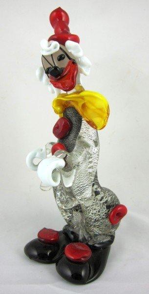 12: Murano Glass Clown