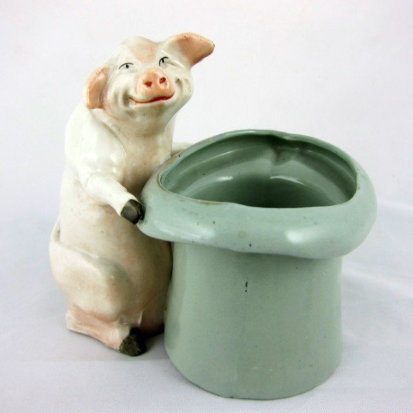 23: Handpainted China Pig