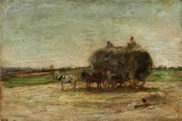 127: Paul Cezanne (1839-1906) Oil Painting