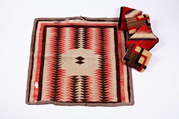 7: Native American Blanket & Pillows