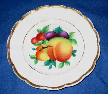 2: KPM Fruit Plate & Chamberstick
