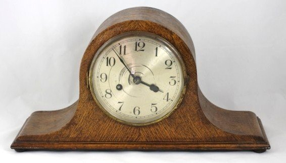 9: Humpback Mantel Clock