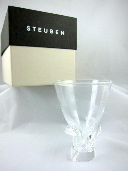 20: Steuben Crystal Vase