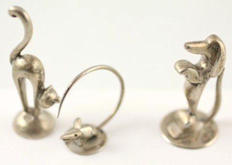 23: Whimsical Silver Animals