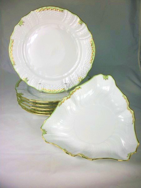 7: Assorted Herend China Pieces