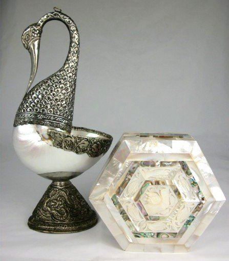 8: Two Middle Eastern Decorative Objects