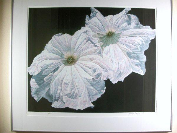 "11: Bernique Longley Glicee, ""Petunias"""