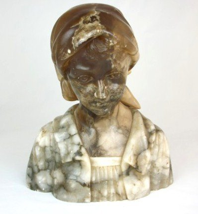 12: Alabaster Bust Of A Maiden