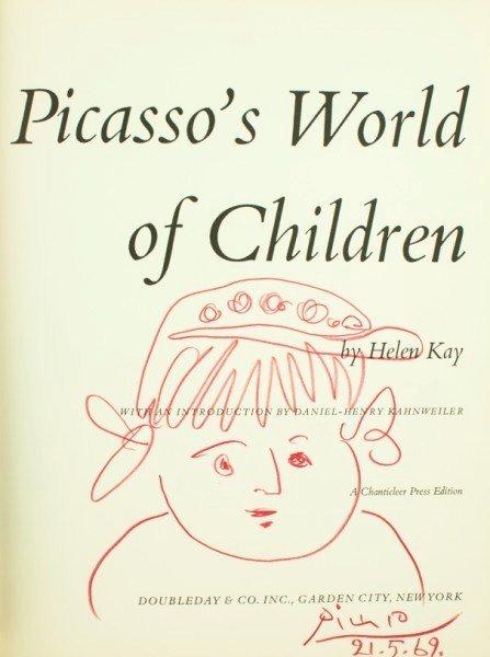 17: Pablo Picasso, Original Red Pencil Sketch