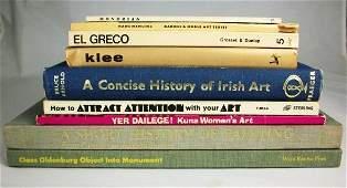 15B: Assorted Art Books