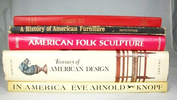 15D: American Antiques and Design Books