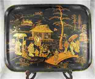 1: Vintage French Lacquer Tray