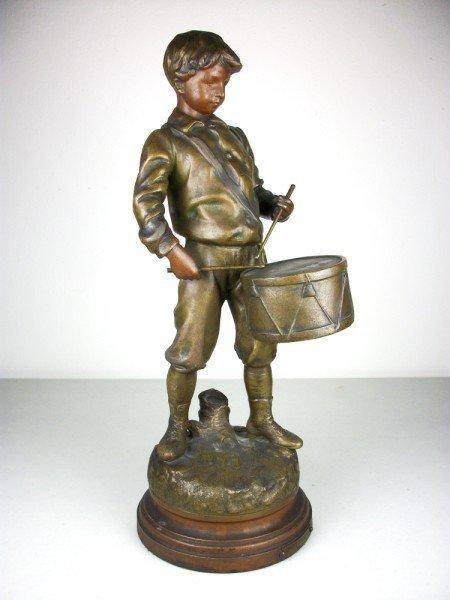 2: Drummer Boy Spelter Figure