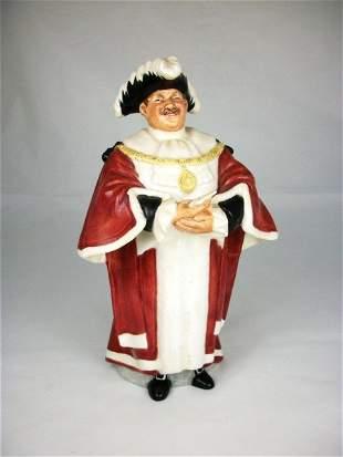 "4: Royal Doulton Figurine, ""The Mayor"""