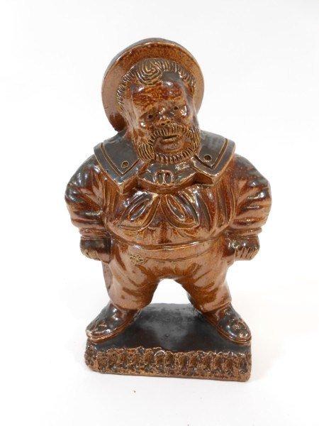 6: English Figural Tobacco Jar, 19th Century