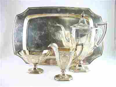 230: Sterling Silver Coffee Service