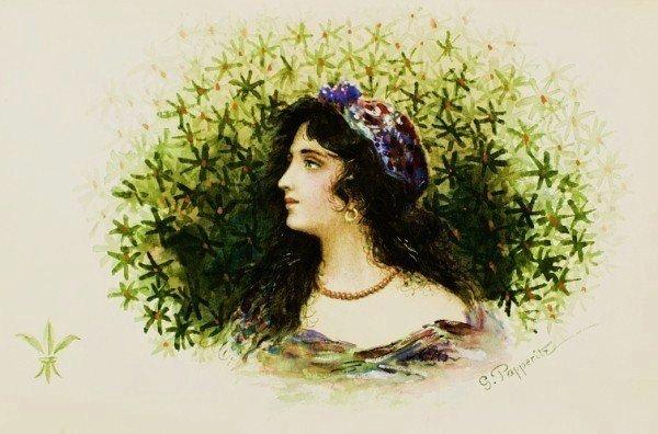 10: Georg Papperitz (1846-1918) Watercolor