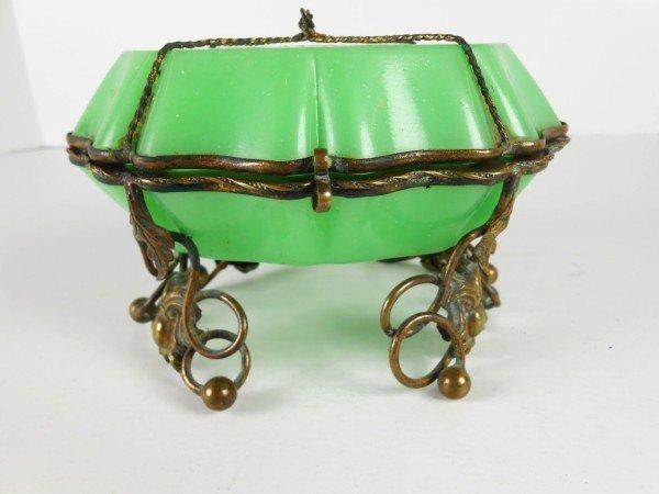 11: Art Nouveau Trinket Box, French