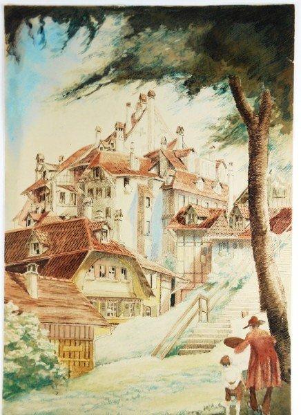15: Handcolored Print, 19th Century