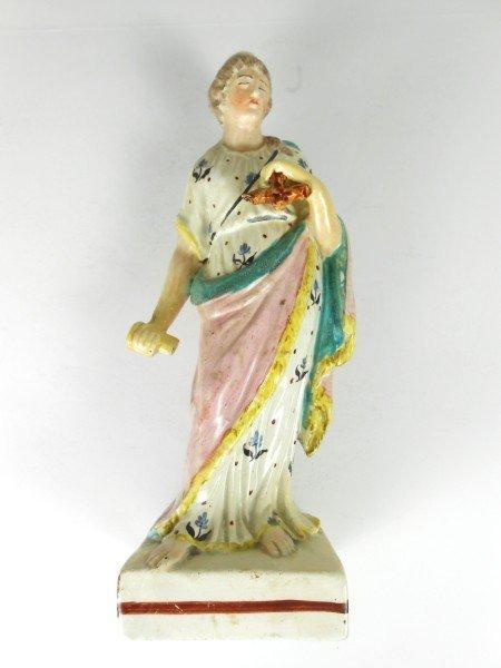17: Enoch Wood Staffordshire Figure, Ca. 1790
