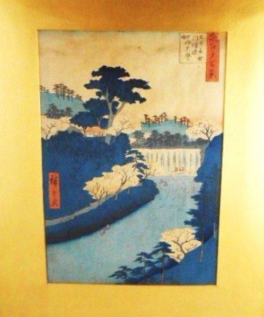 Japanese Woodblock Print, 19th Century