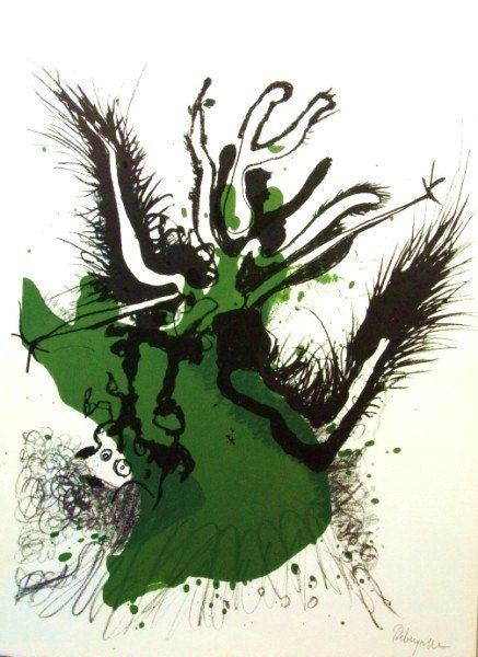 Paul Rebeyrolle (1926-2005) Signed Lithograph