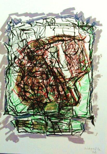 Jean-Paul Riopelle Signed Original Lithograph