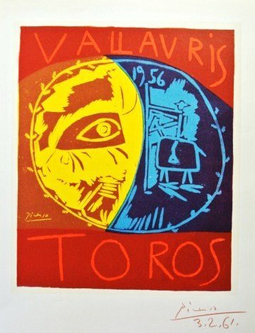 Pablo Picasso (1881-1973) Signed Lithograph