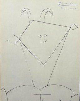 Pablo Picasso (1881-1973) Signed Print